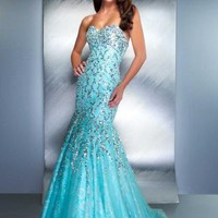 MacDuggal Couture Dress 85144D at Peaches Boutique
