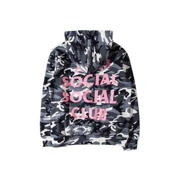 CREYC8S ANTI SOCIAL SOCIAL CLUB Hoodies women hip hop Camouflage men Autumn Winter ASSC 3125c kanye west yeezy Hoodie Sweatshirts cots