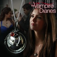 Vampire Diaries Elena's Vervain Pendant Anti-vampire Necklace