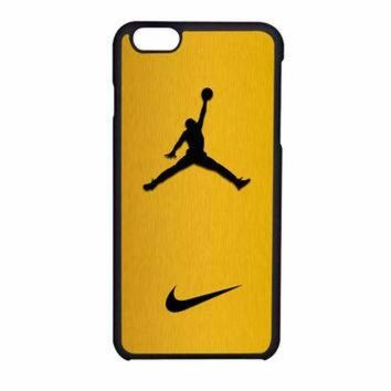 VONR3I Nike Air Jordan Golden Gold iPhone 6 Case