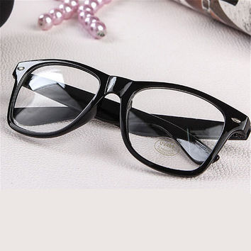 Fashion Men Women Optical Eyeglasses Frame Glasses With Clear Glass Brand Clear Transparent Glasses Women's Men's Frames
