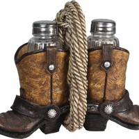 Salt & Pepper Shaker Set - Cowboy Boots