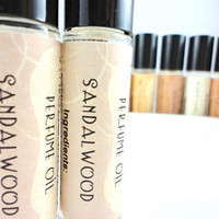 Sandalwood Perfume Oil - Roll On Perfume