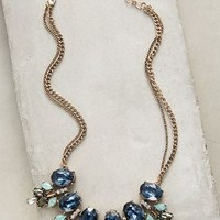 Floe Necklace by Anthropologie in Blue Motif Size: One Size Necklaces