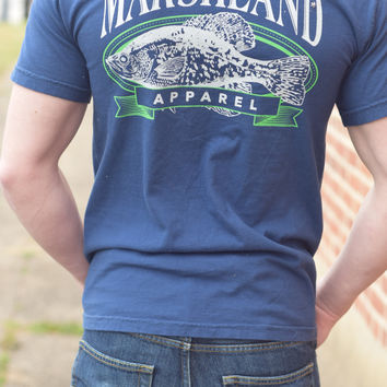 Marshland Apparel T-Shirt {Gone Fishing}