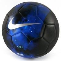 Nike CR7 Cristiano Ronaldo Prestige Soccer Ball Size 5 (Space Galaxy Blue)