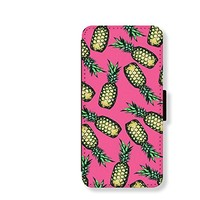 Pineapple Card Slot Leather Case for Iphone 6 Iphone6 Plus Iphone 5c Case Iphone 5 Case Wallet Case for Samsung Calaxy S5 S4 Case Note3 Note4 Case Cell Phone Holster Design Picture Leather Phone Holster Pouch Phone Covers (Case for Iphone 5/5s)