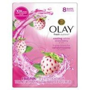 Olay Fresh Outlast Cooling White Strawberry and Mint Beauty Bar