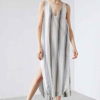 Silence + Noise Annaka Striped Maxi Tank Dress