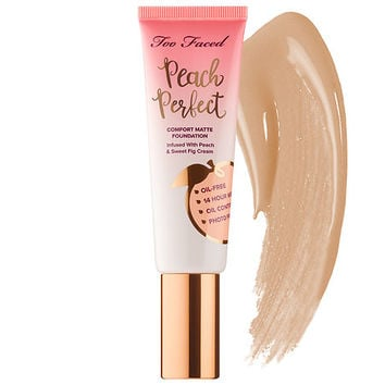 Peach Perfect Comfort Matte Foundation – Peaches and Cream Collection - Too Faced | Sephora