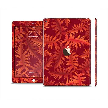 The Vector Fall Red Branches Skin Set for the Apple iPad Air 2