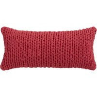"Northport Knit 23""x11"" Pillow With Down-alternative Insert"