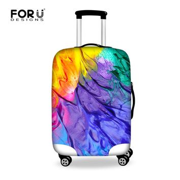 New Graffiti Design Protective Luggage Cover Waterproof Travel Luggage Cover Suit for 18-30 inch Case Elastic Suitcase Cover