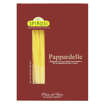Italian Pappardelle Egg Pasta by Spinosi 8.8 oz