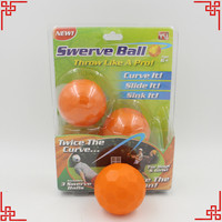 3PCS/LOT Swerve Ball game kids toy children present outdoor playing game The Amazing Ball That Lets Anyone Throw Like A Pro