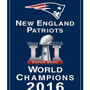 New England Patriots Super Bowl 51 Champions Flag 3ft x 5ft Football Hockey Baseball USA Flag