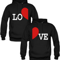 LOVE DESIGNED Couple Hoodie