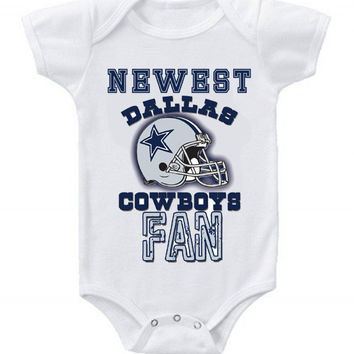 NEW Football Baby Bodysuits Creeper NFL Dallas Cowboys #2