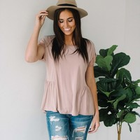 Gretchen Blush Top