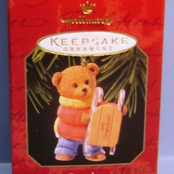 1999 Grandson Hallmark Retired Ornament