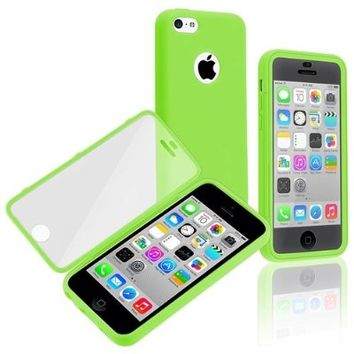 Generic Carrying Case for iPhone 5c - Non-Retail Packaging - Green