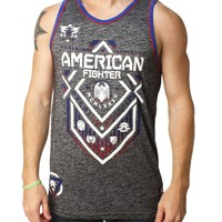 American Fighter Men's North Dakota Tech Tank Top
