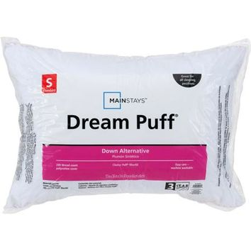 Mainstays Dream Puff Pillow - Walmart.com