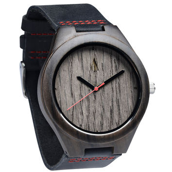 Ebony Watch // Silver Grey Oak