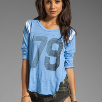 Rebel Yell 79 Throwback Jersey in Cornflower from REVOLVEclothing.com