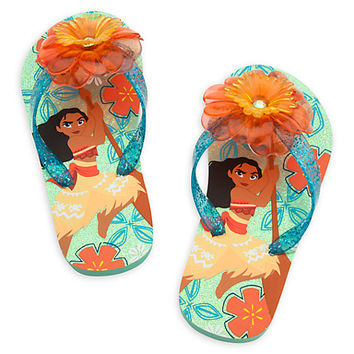 Moana Flip Flops for Kids | Disney Store