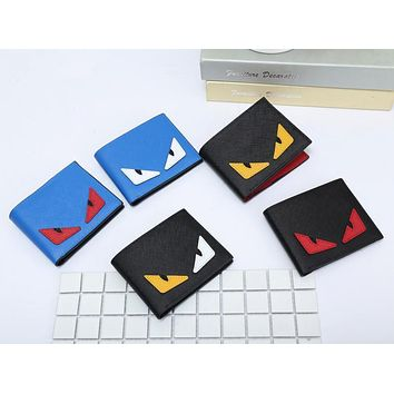 fashion fendi little devil women wallet