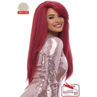 LACE FRONT WIG,  SWISS LACE DEEP PART COLLECTION , NATURAL STRAIGHT (LSD01)