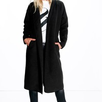 Diane Bonded Shawl Duster Coat