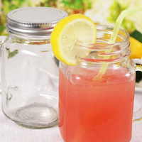 Country Mason Jar With Handle