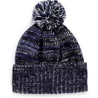 BLUE MIXED YARN BEANIE - Hats - Accessories - TOPMAN