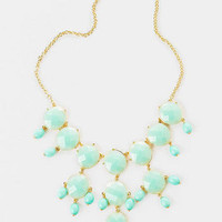 State Street Bubble Statement Necklace
