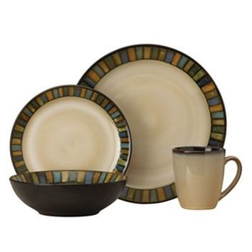 SONOMA life + style® Vallejo Blue 16-pc. Dinnerware Set