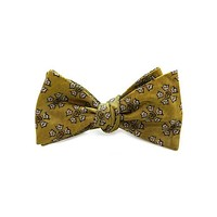 Sigma Nu Bow Tie in Gold by Dogwood Black - FINAL SALE