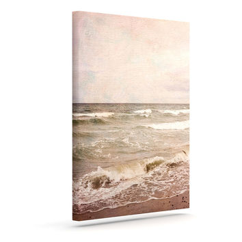 "Iris Lehnhardt ""Romantic Sea"" Beach Brown Outdoor Canvas Wall Art"