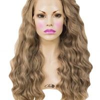 Hollywood Lace Front Wig - Powder Room D
