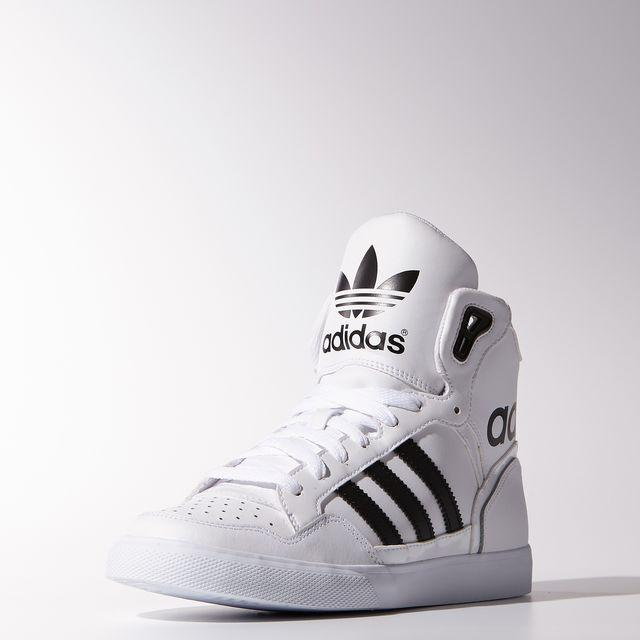 612527752 adidas Extaball Shoes - White | adidas US from adidas