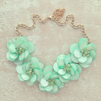 Mint Ocean Shell Necklace