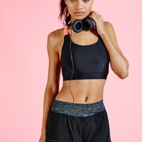 Missguided - Active Double Layer Gym Shorts Peach