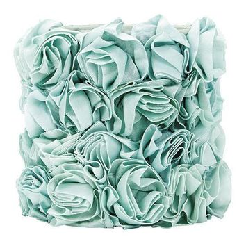 Rose Garden Chandelier Shade - Turquoise