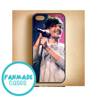 Louis Tomlinson violet iPhone 4/4s 5/5s/5c & iPod 4/5 Rubber Case