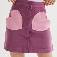 Lazy Oaf Pink Pocket Purple Skirt - Everything - Categories - Womens