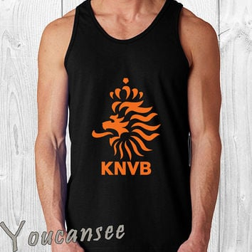 Royal Netherlands Football- men tank top ---print screen tank top for men, Awesome tank top for Man,Size S --- 3XL