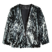 H&M Sequined jacket £34.99