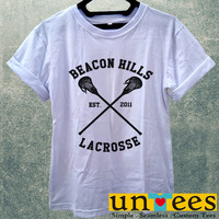 Beacon Hills Lacrosse Logo Women T Shirt