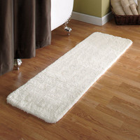 "54"" Microfiber Plush Bath Runners"